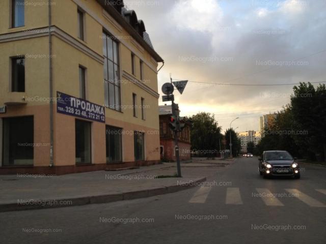 Адрес(а) на фотографии: улица Сакко и Ванцетти, 40, Екатеринбург
