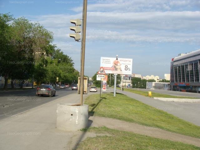 Адрес(а) на фотографии: улица Шейнкмана, 125, Екатеринбург