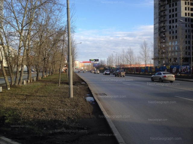 Address(es) on photo: Tkachei street, 23, Yekaterinburg