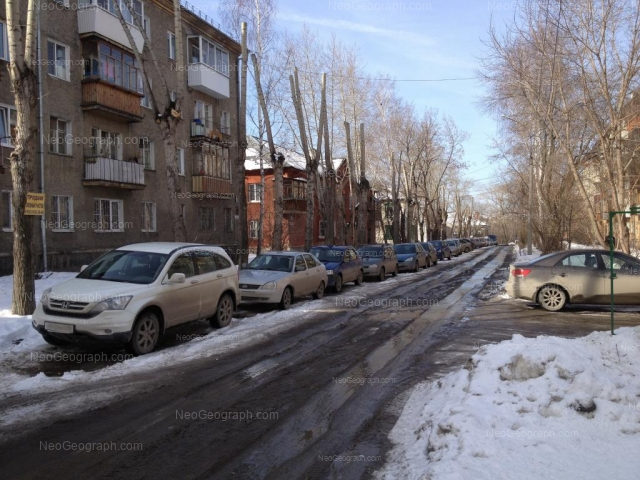 Address(es) on photo: Kuriinskiy lane, 3, 4, 6, 8, Yekaterinburg