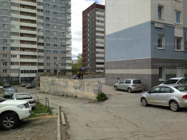 Адрес(а) на фотографии: Асбестовский переулок, 2/2, 2/3, 4а, Екатеринбург