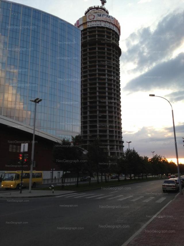Address(es) on photo: Borisa Eltsina street, 6, 8, Yekaterinburg