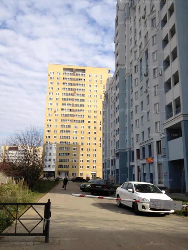 Адрес(а) на фотографии: улица Щорса, 39, Екатеринбург