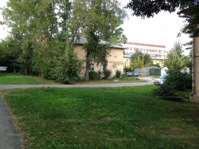 Адрес(а) на фотографии: Военная улица, 18, Екатеринбург