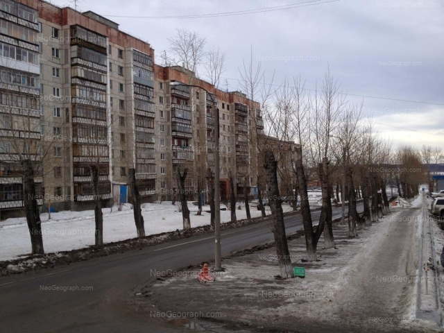 Address(es) on photo: Manevrovaya street, 12, Yekaterinburg