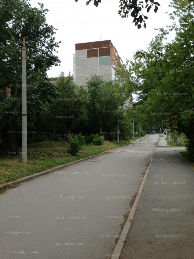 Address(es) on photo: Shefskaya street, 60, Yekaterinburg