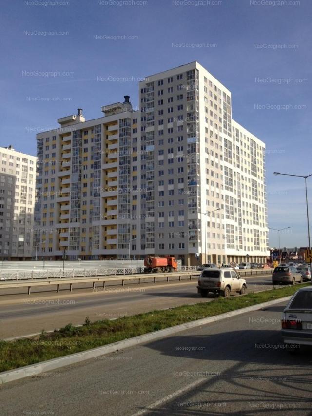 Адрес(а) на фотографии: улица Павла Шаманова, 6, 8, Екатеринбург