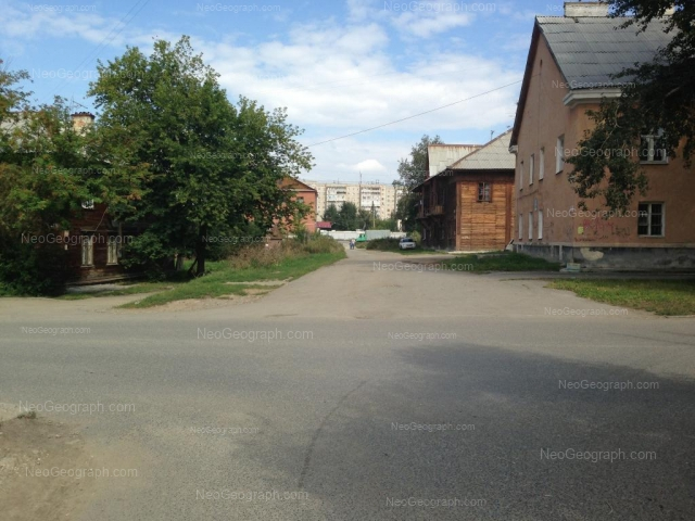 Address(es) on photo: Obkhodnoy lane, 27, 29, Yekaterinburg