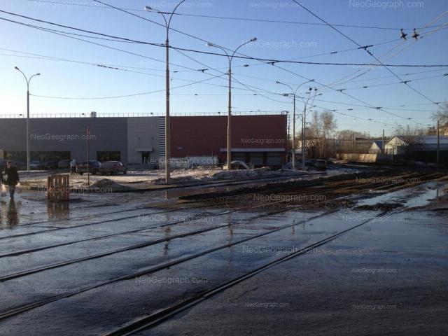 Адрес(а) на фотографии: проспект Космонавтов, 2, Екатеринбург