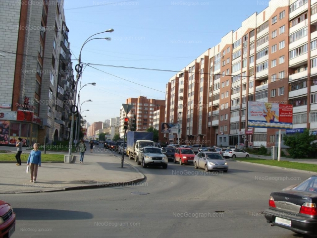 Address(es) on photo: Surikova street, 2, 4, 6, Yekaterinburg