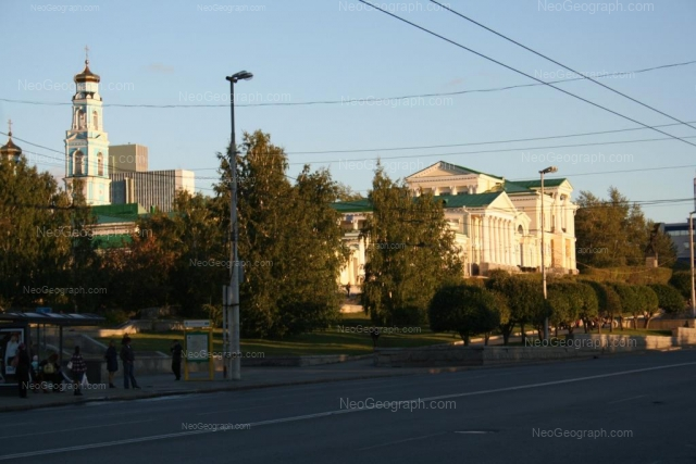 Адрес(а) на фотографии: улица Клары Цеткин, 11, Екатеринбург