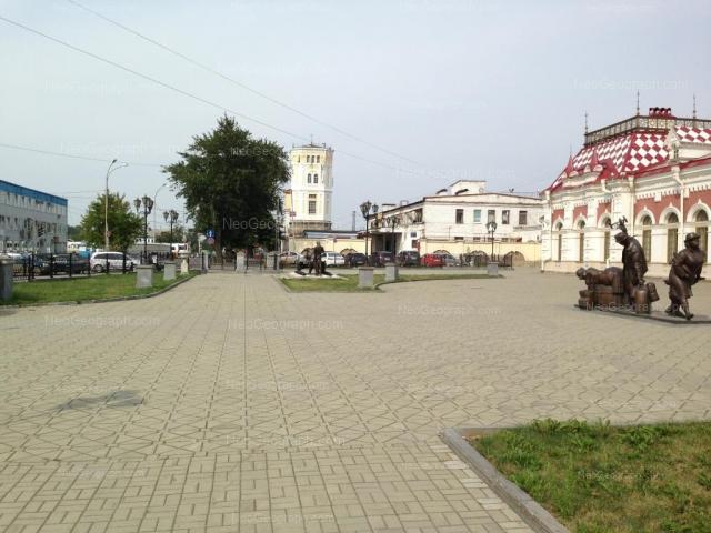 Address(es) on photo: Vokzalnaya street, 12, 13а, Yekaterinburg