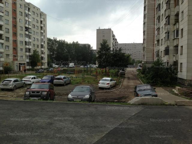 Адрес(а) на фотографии: улица Фрезеровщиков, 39А, 39Б, Екатеринбург