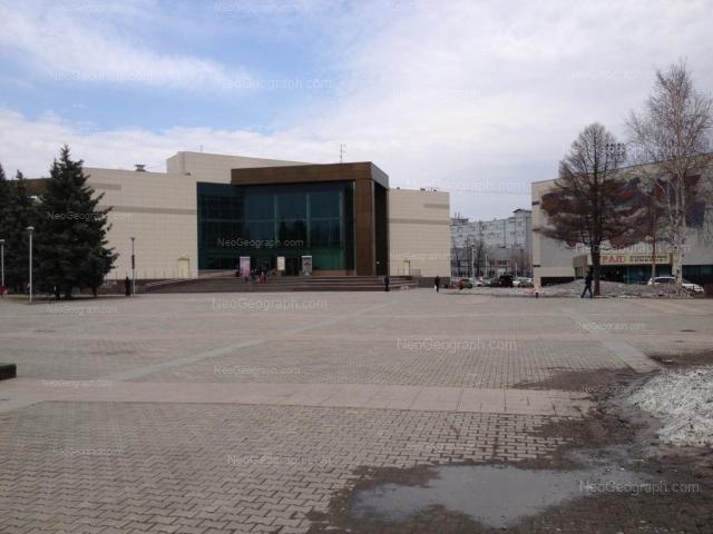 Культурный центр Урал (Студенческая, 3) и одноименный спортивный комплекс (Комвузовская, 9), Екатеринбург