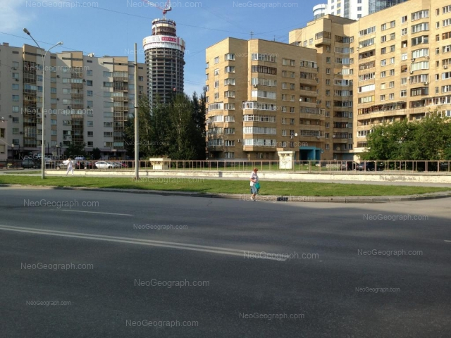 Адрес(а) на фотографии: улица Бориса Ельцина, 6, Екатеринбург