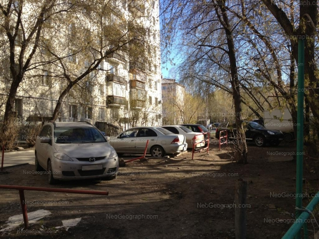 Адрес(а) на фотографии: улица Пальмиро Тольятти, 19, 20, 24, Екатеринбург