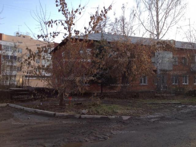 Адрес(а) на фотографии: Ухтомская улица, 8, Екатеринбург