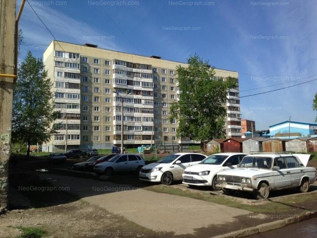 Адрес(а) на фотографии: улица Колхозников, 10, Екатеринбург
