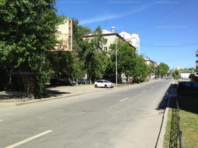 Адрес(а) на фотографии: улица Сакко и Ванцетти, 45, 50, 54, Екатеринбург