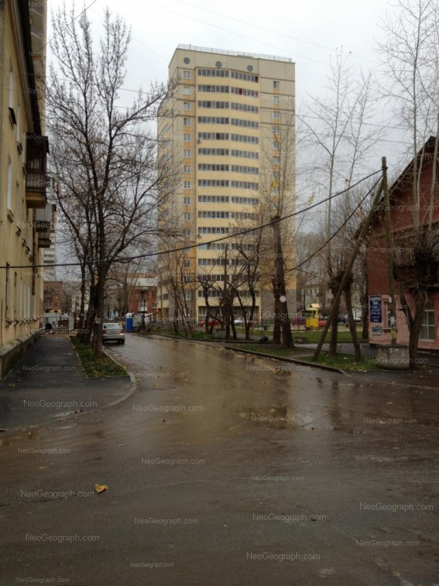 Адрес(а) на фотографии: улица Сулимова, 55, Екатеринбург