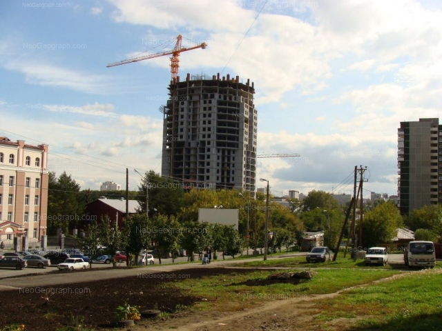 Адрес(а) на фотографии: улица Шейнкмана, 113, 113а, 119, 122, Екатеринбург