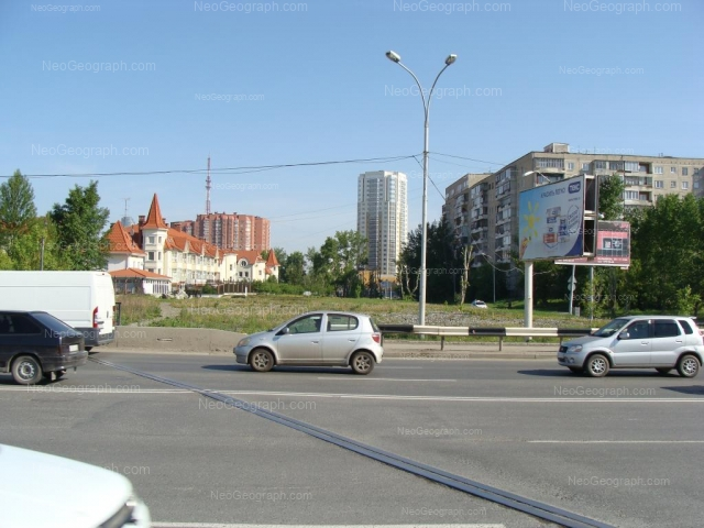 Адрес(а) на фотографии: улица Луначарского, 221, 225, 240/4, Екатеринбург