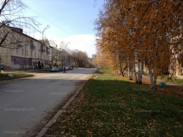 Address(es) on photo: Mnogostanochnikov lane, 9, 10, 12, Yekaterinburg