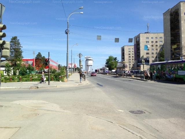 Адрес(а) на фотографии: Донбасская улица, 1, 4, 6, 8, Екатеринбург