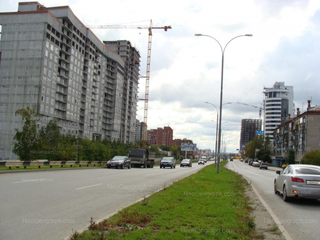 Address(es) on photo: Moskovskaya street, 48, 54, 77, Yekaterinburg