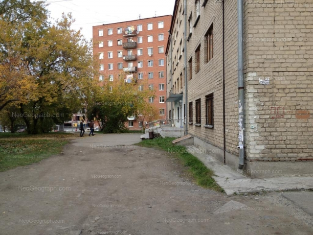 Адрес(а) на фотографии: улица Мельникова, 3, 7, Екатеринбург
