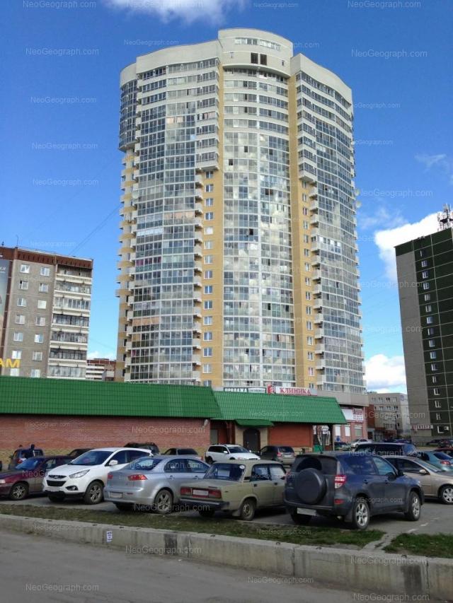 Адрес(а) на фотографии: Техническая улица, 10, 12, 14, 14к2, Екатеринбург