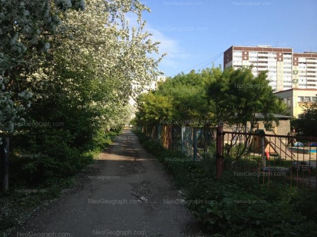 Адрес(а) на фотографии: улица Академика Бардина, 23, 25/1, 25/2, 25а, Екатеринбург