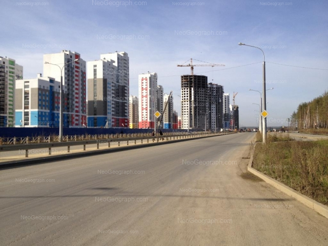 Address(es) on photo: Krasnolesiya street, 137, 145, Yekaterinburg
