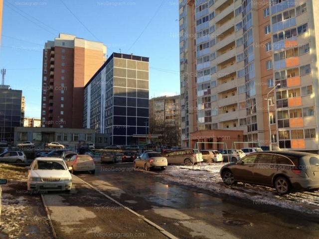 Адрес(а) на фотографии: улица Красина, 3, 3А, 4, 5, Екатеринбург