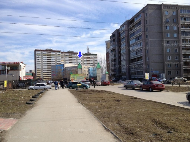 Адрес(а) на фотографии: Техническая улица, 12, 18Б, 22/3, Екатеринбург