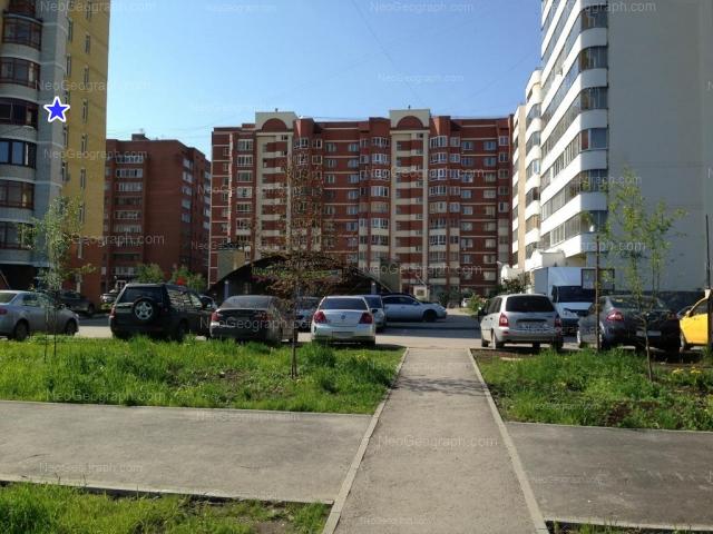 Адрес(а) на фотографии: улица Вилонова, 14а, 16, 18, 22, Екатеринбург