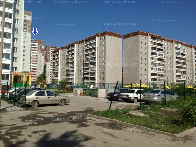 Адрес(а) на фотографии: улица Учителей, 14, 16Г, 18, 22, 24, Екатеринбург