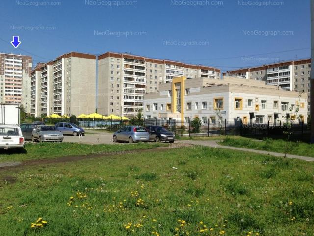 Адрес(а) на фотографии: улица Учителей, 14, 22, 24, 24А, 26, Екатеринбург