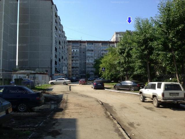 Адрес(а) на фотографии: улица Учителей, 20, 22, 24, 26, Екатеринбург