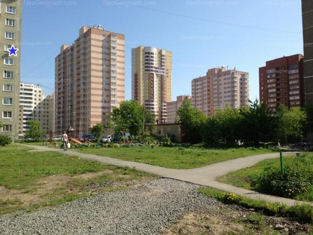 Address(es) on photo: Borovaya street, 25, 29, 31, Yekaterinburg