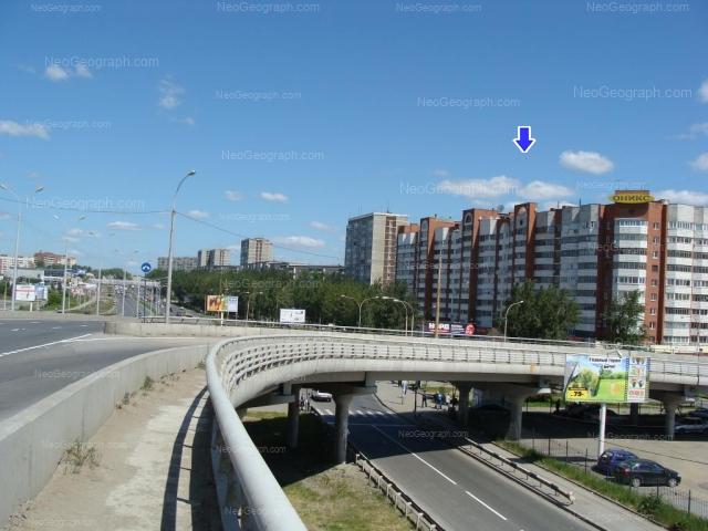 Address(es) on photo: Bebeliya street, 138, 146, Yekaterinburg
