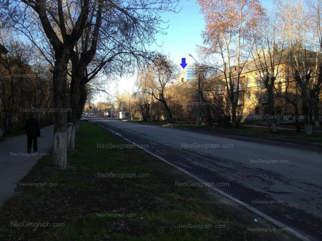 Address(es) on photo: Danily Zvereva street, 17, 19, Yekaterinburg