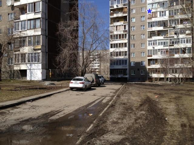 Адрес(а) на фотографии: Ольховская улица, 25/1, 27/1, 27/2, Екатеринбург