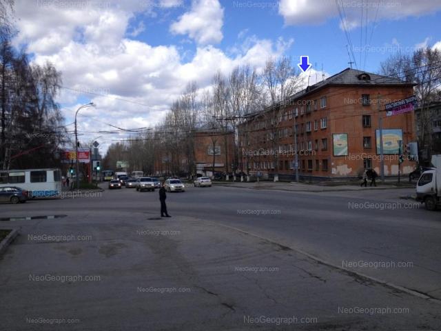 Адрес(а) на фотографии: улица Данилы Зверева, 10, 12, Екатеринбург