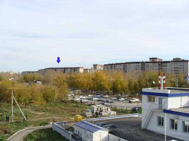 Address(es) on photo: Cherepanova street, 7, 12, 16, 18, Yekaterinburg