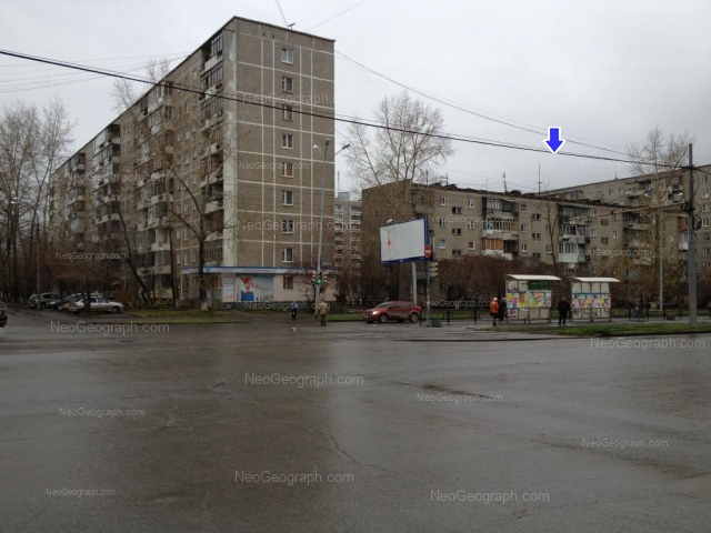 Address(es) on photo: Uralskaya street, 54, 56, 58/1, Yekaterinburg