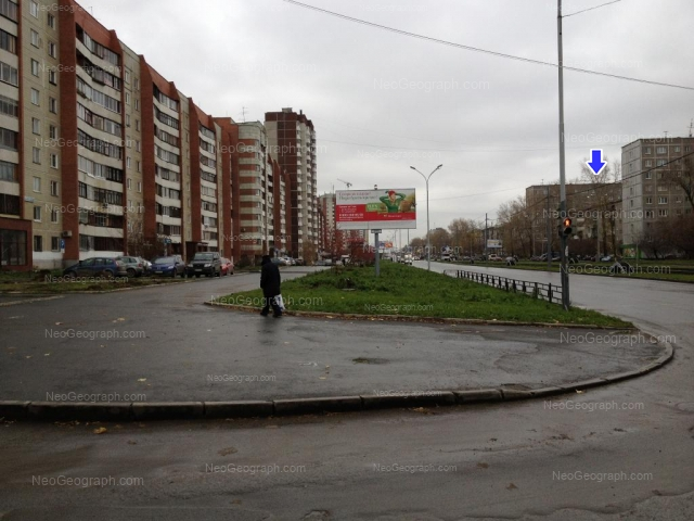 Address(es) on photo: Uralskaya street, 54, 55, 56, 57, 57 к1, Yekaterinburg