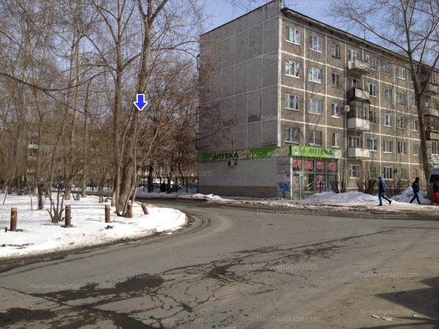 Address(es) on photo: Uralskaya street, 58/2, 60, Yekaterinburg