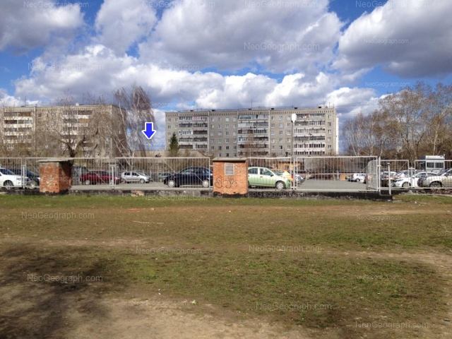 Адрес(а) на фотографии: улица Блюхера, 59А, 59Б, 63А, Екатеринбург