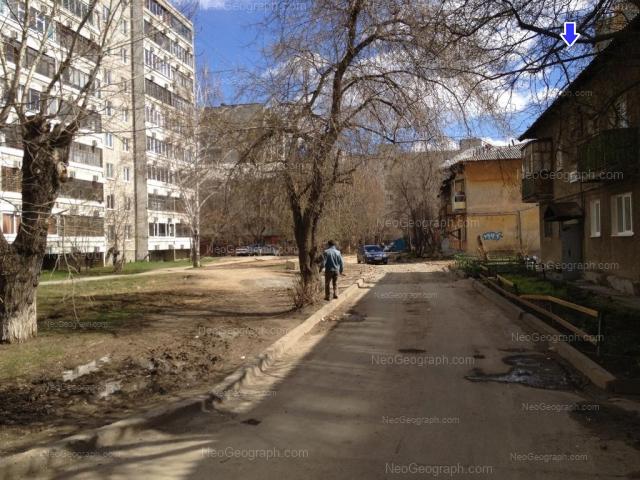 Адрес(а) на фотографии: улица Блюхера, 57, 59А, 59Б, 61А, 63А, Екатеринбург